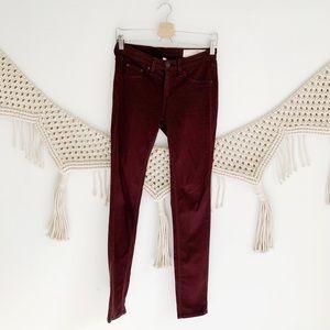 Rag & Bone Mulberry Legging Jeans